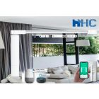 HC-SMART-HOME DIY Electric Remote Control Curtain Rods motorized curtain tracks remote control electric curtain rail