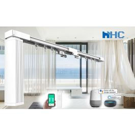 8-Meter DIY Smart Electric Curtain Tracks, Integrate with ...