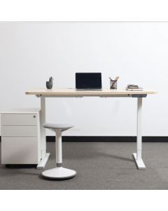 Electric Standing Desk, Height-Adjustable, Dual-Motor Stand-Sit Desk Frame