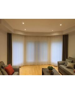 s-wave smart electric curtain track kit