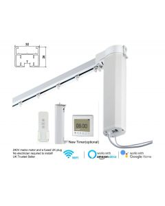 Remote Control Smart Electric Curtain Tracks